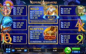 เกมสล็อต Neptune Treasure เทพเจ้าโพไซดอน